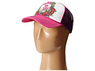 Gypsy SOULE Lucky In Life Trucker Hat (Pink/White)