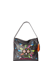 Gypsy SOULE - Don't Walk In Fear Sugar Skull Shoulder Bag