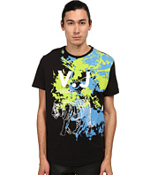 Versace Jeans - Splatter Paint Tiger T-Shirt