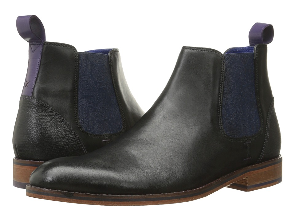 Ted Baker Camroon 2 (Black Leather) Men