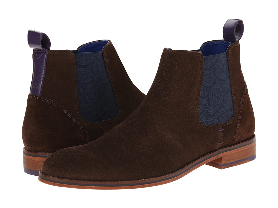 Ted Baker Camroon 2 (Dark Brown Suede) Men