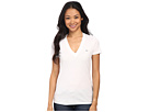Lacoste Short Sleeve Cotton Jersey V-Neck Tee Shirt