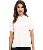 Lacoste - Short Sleeve Pleated Back Pique Polo