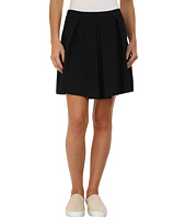 Lacoste - Wool Pique A-Line Skirt
