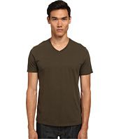 Vince - Short Sleeve Pima Cotton V-Neck Tee