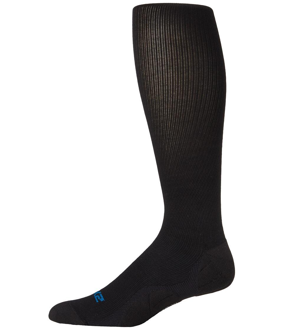 Image of 2XU - 24/7 Compression Socks (Black/Black) Men's Knee High Socks Shoes