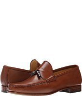 Massimo Matteo - Leather Tassel Croc Loafer