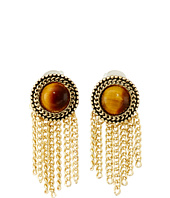 Sam Edelman - Stone Fringe Stud Earrings