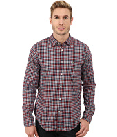 Lacoste - Long Sleeve Poplin Check Woven Shirt