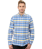 Lacoste - Long Sleeve Plaid Poplin Woven Shirt