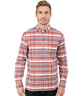 Lacoste - Resort Long Sleeve Plaid Poplin Woven Shirt