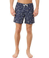 Lacoste - Printed Sailing Graphic Swim Shorts 5
