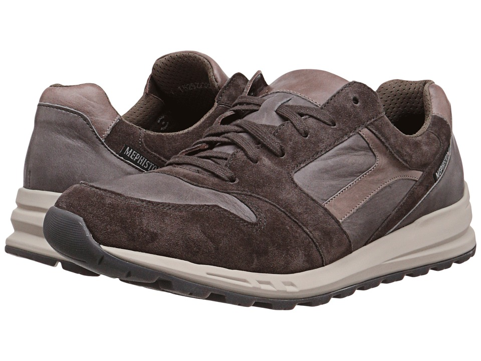 Mephisto - Trail (Dark Grey Suede/Graphite/Dark Taupe Steve) Men