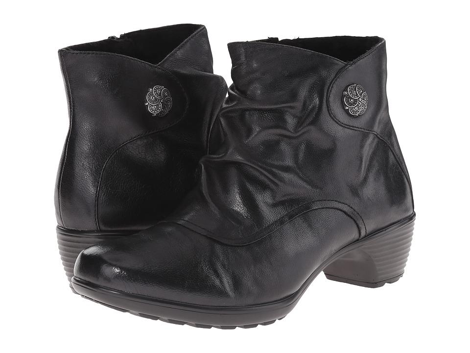 Romika Banja 02 Black Pitone Womens Dress Boots
