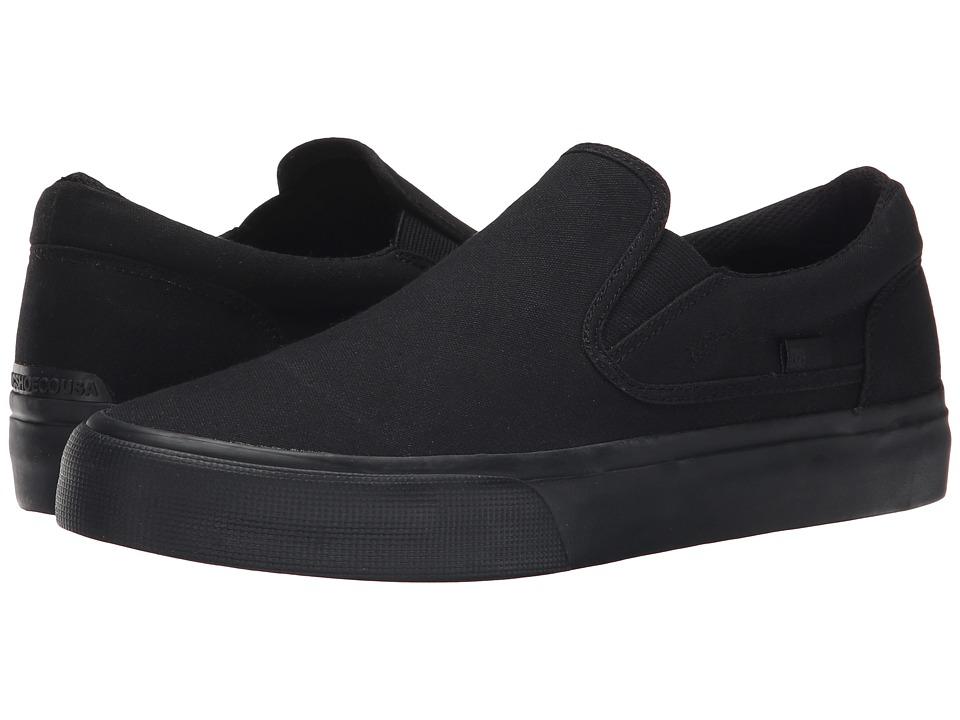 DC - Trase Slip-On TX (Black 3) Skate Shoes