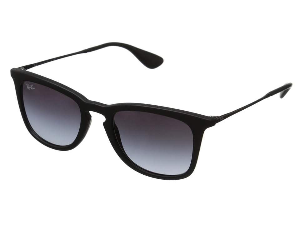 Ray-Ban RB4221 50mm (Black Rubberized/Gray Gradient) Fashion Sunglasses