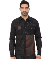 Affliction - Patriotic Slim Fit Long Sleeve Shirt