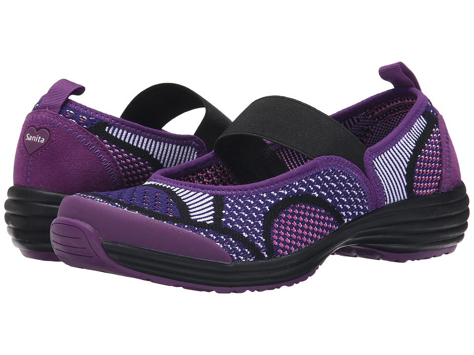 Sanita Serenity Lite (Pink/Purple Knit) Women