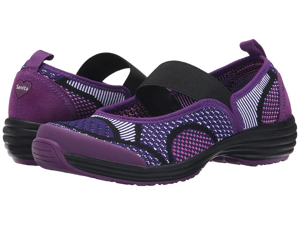 Sanita - Serenity Lite (Pink/Purple Knit) Womens Shoes