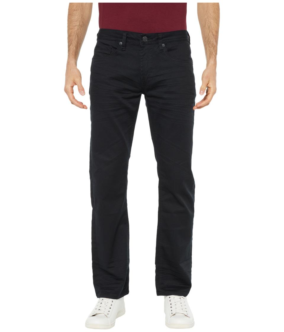 Buffalo David Bitton - Six X Slim Fit Torpedo Stretch Twill in Black (Black) Mens Jeans