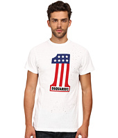 DSQUARED2 - Long Cool Twisted Print T-Shirt