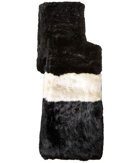 Kate Spade New York Faux Rabbit Fur Stole