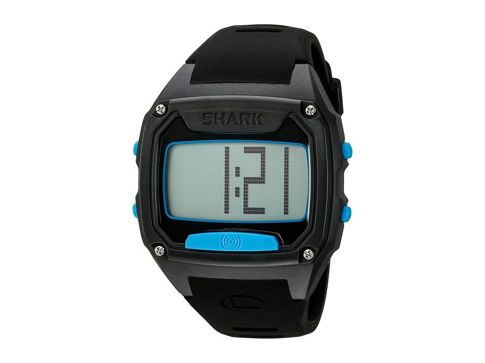 Freestyle Shark Tooth Black/Cyan Watches