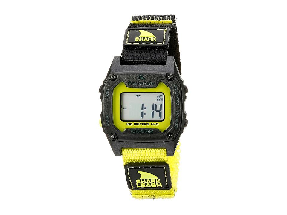 Freestyle Shark Leash Mini Yellow/Black Watches
