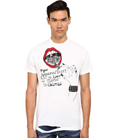 DSQUARED2 - Long Cool Twisted Ripped T-Shirt