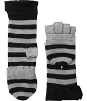 Kate Spade New York - Modern Heritage Stripe Pop Top Mittens
