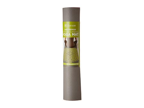 Gaiam 5mm Print Premium Yoga Mat