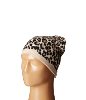 Kate Spade New York - Leopard Jacquared Bow Beanie