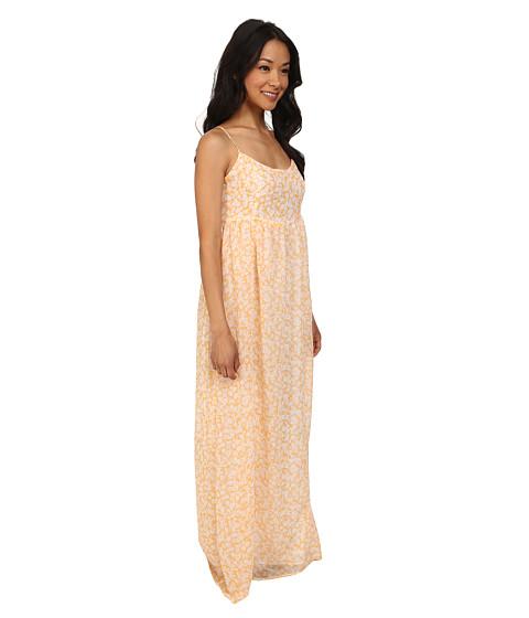 Volcom Great Lengths Maxi Dress Citrus Gold - 6pm.com