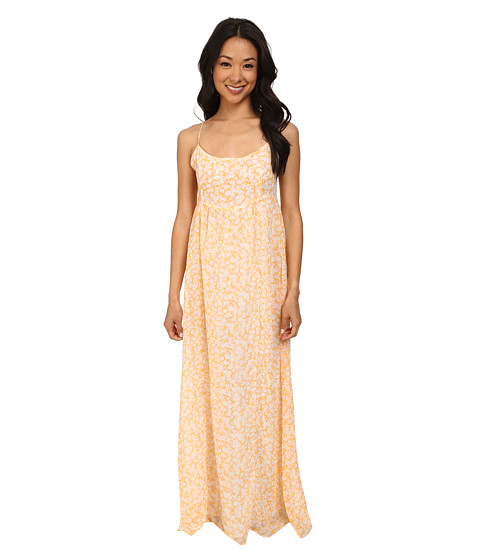 Volcom Great Lengths Maxi Dress Citrus Gold - 6pm.com