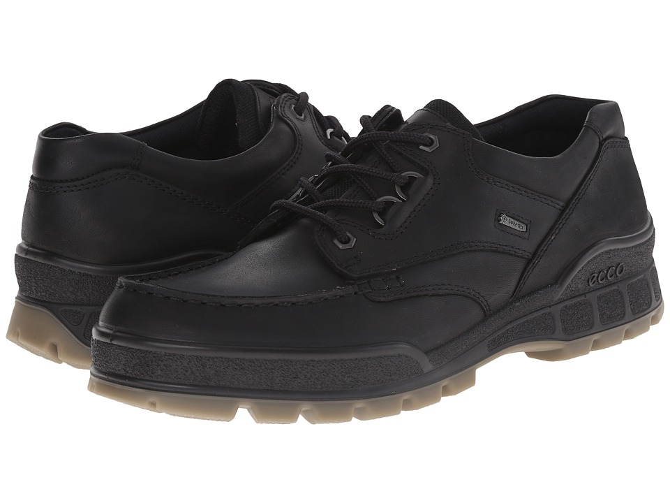 Ecco Track II Low (Black) Men's Lace up casual Shoes