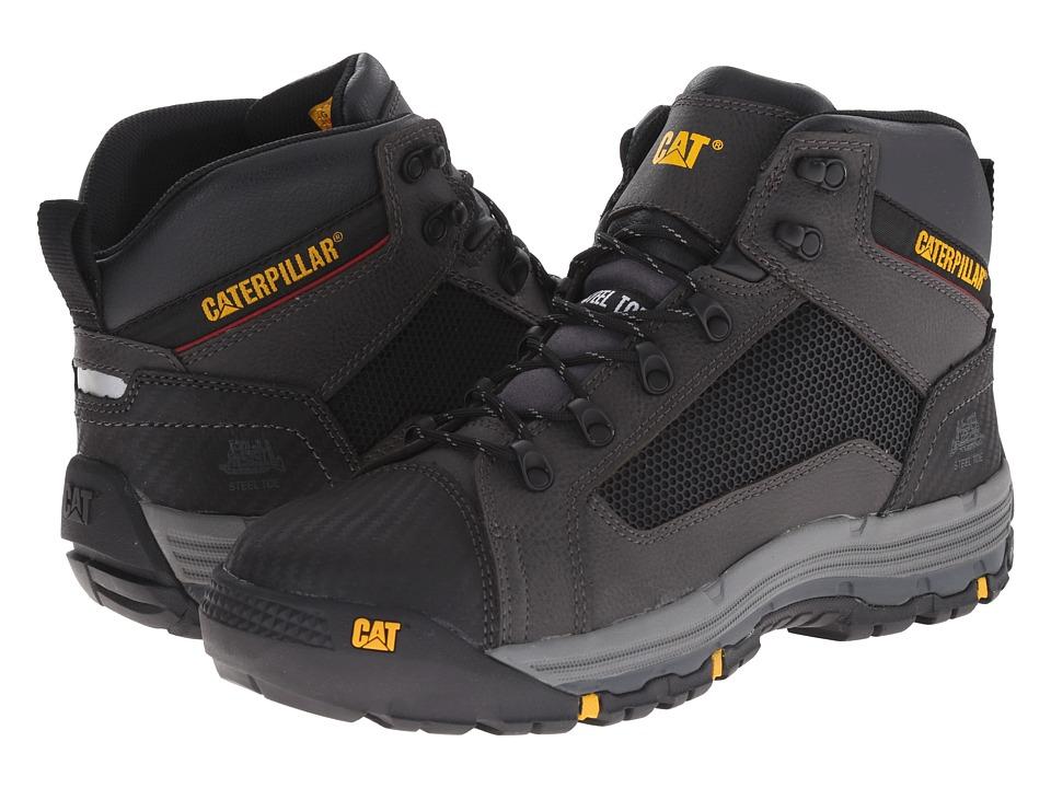 Caterpillar - Convex Mid Steel Toe (Black) Men