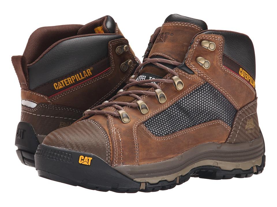 Caterpillar Convex Mid Steel Toe (Dark Beige) Men