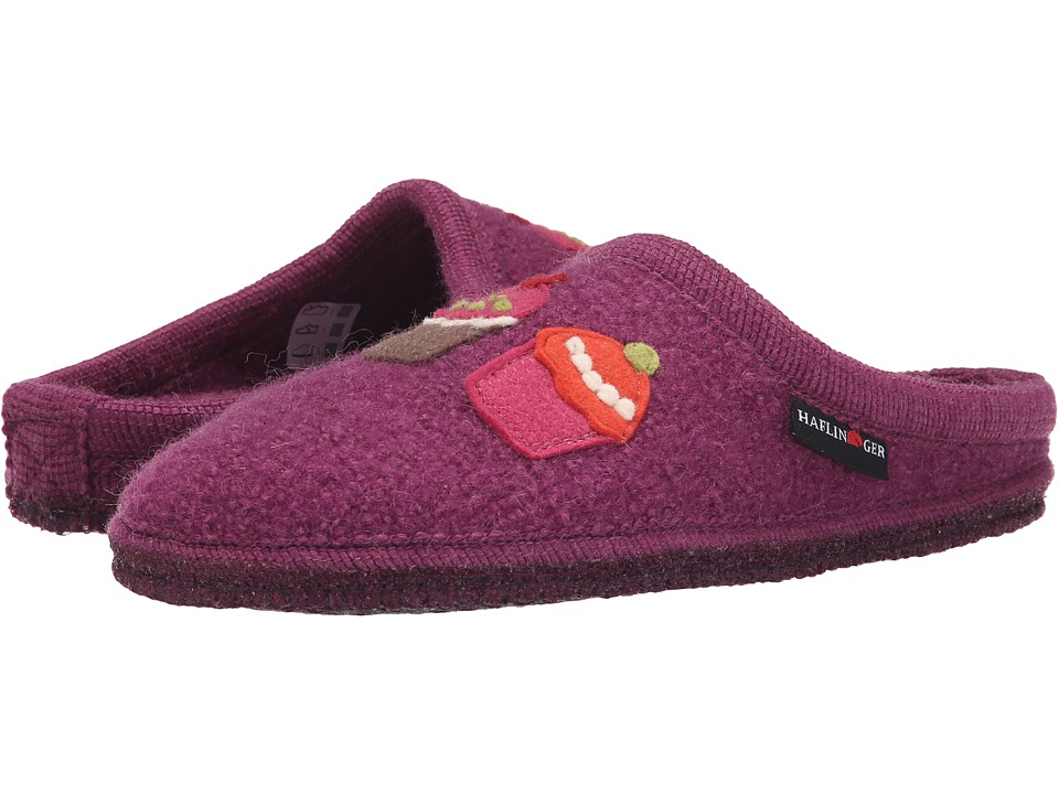 Haflinger Sweetie Begonia Womens Slippers