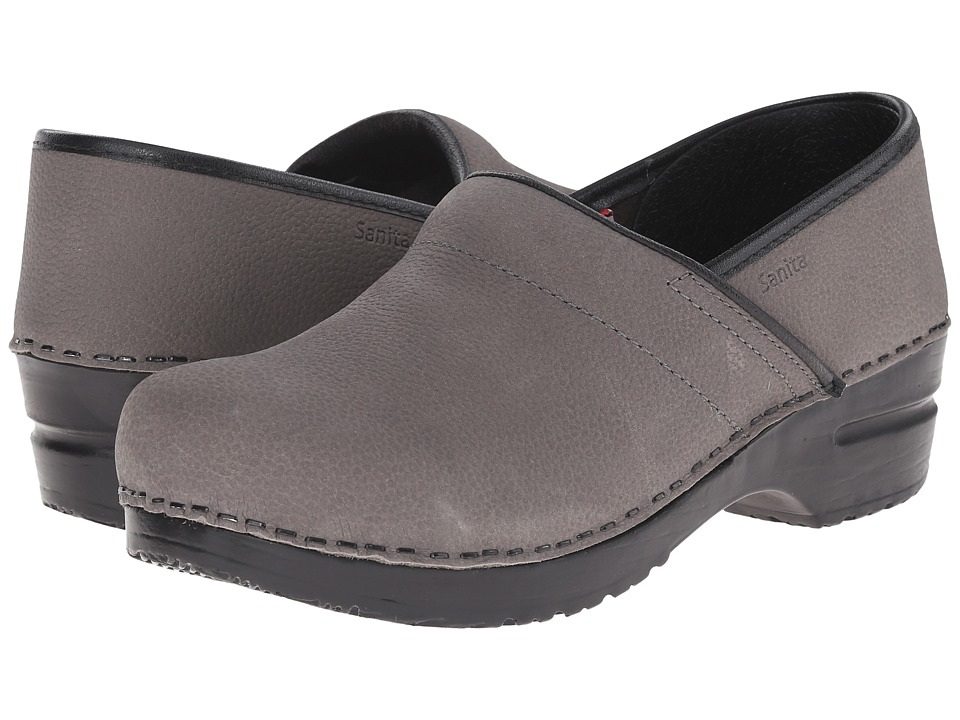 Sanita - Professional Oil (Grey 1) Womens Clog Shoes