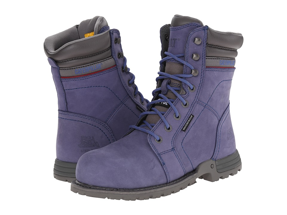 Caterpillar Echo Waterproof Steel Toe (Marlin) Women's Wo...