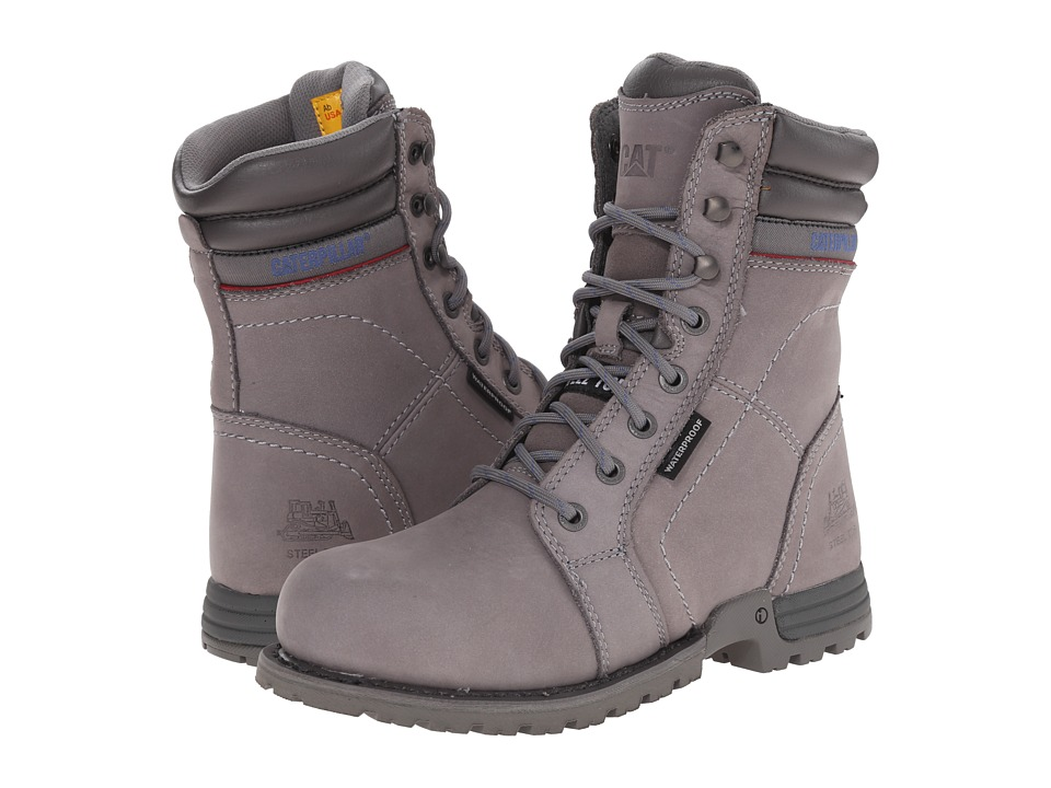 Caterpillar Echo Waterproof Steel Toe (Frost Grey) Women