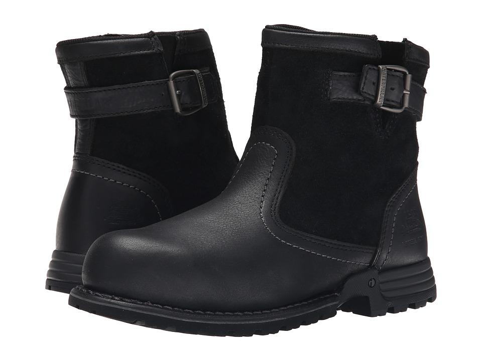 Caterpillar - Jace Steel Toe (Black) Women's Work Boots
