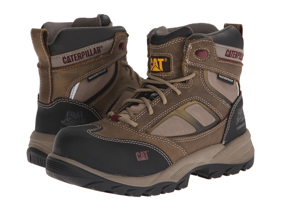 Caterpillar Shaman 6 Waterproof Composite Toe (Kelp) Women
