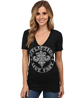 Affliction - Divio Wings Short Sleeve V-Neck Tee