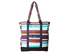 KAVU Wedgewood Tote (Earth Stripe)