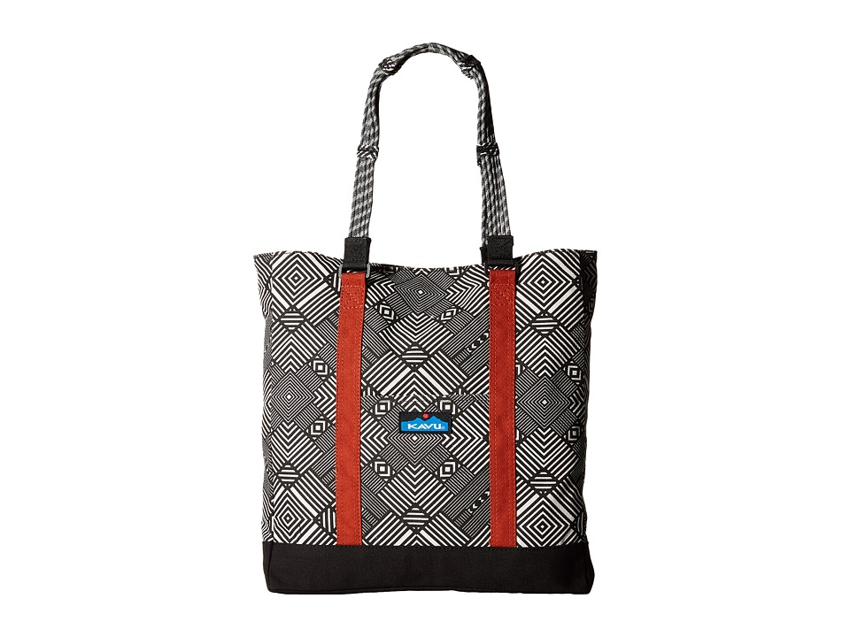 KAVU - Wedgewood Tote (Stone Maze) Tote Handbags