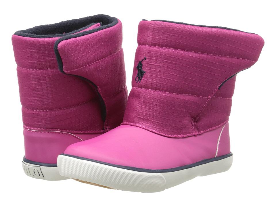 Polo Ralph Lauren Kids Damien Toddler College Pink Nylon/Navy Kids Shoes