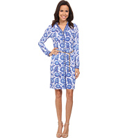 MICHAEL Michael Kors - Porcelain Long Sleeve Shirtdress