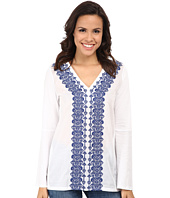 MICHAEL Michael Kors - Woven Front Embroidered Tunic