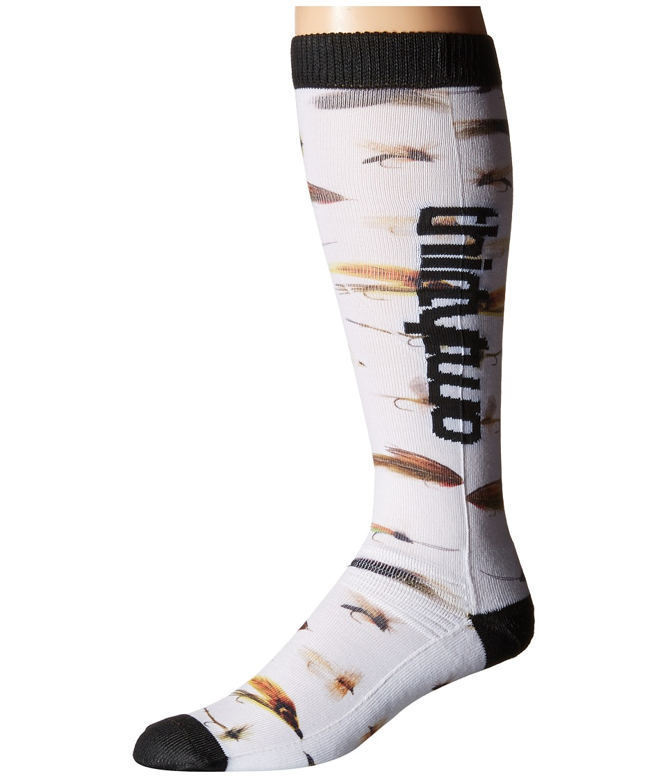 thirtytwo Deep Creek Sock White Mens Crew Cut Socks Shoes